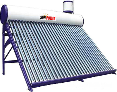 Non Pressure outdoor compact Solar Water Heater