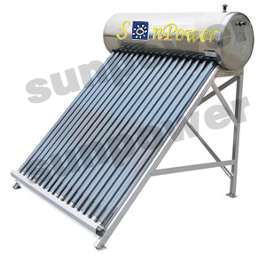 Solar Water Heater Stainless Steel