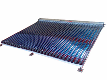Outdoor Pressurized Flat plate U pipe Solar collector