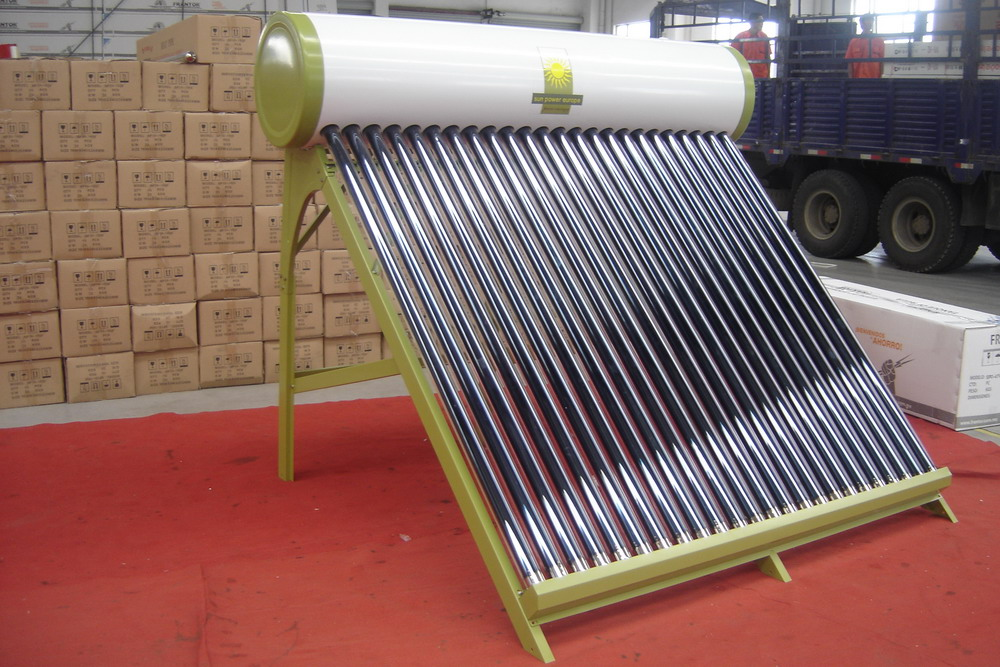 Non Pressure collector vacuum tube Solar Water Heater