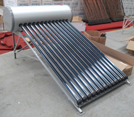150L pressurized Heat Pipe Solar Water Heater