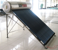 Low Pressure residential vacuum tube Solar Water Heater