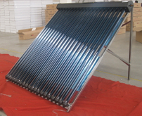 Heat Pipe Pressurized Solar Water Heater Collector