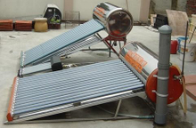 Stainless Steel Non-pressure vacuum tube Solar Water Heater