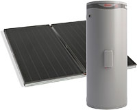 split Flat Type Solar Collector (SPFP-200L)