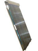Outdoor Tankless Pressurized U pipe Solar collector