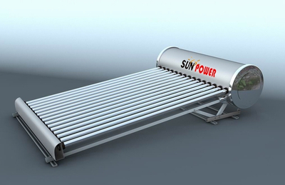 Hot Water Low Pressure Commercial Solar Water Heater