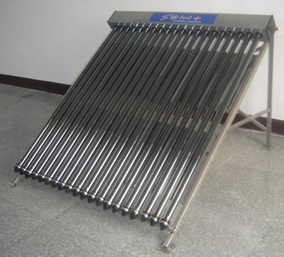 Flat panel Split Heat Pipe Solar Water Heater