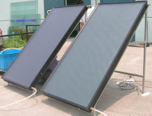 Flat Plate Solar Collector with Tempered Glass