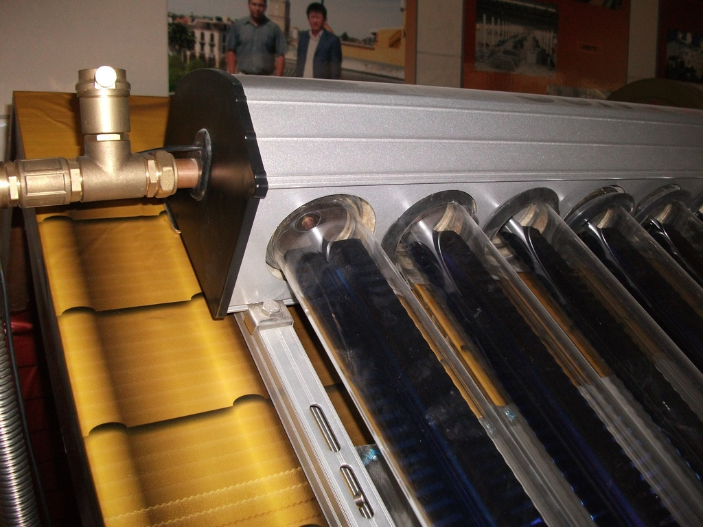 Stainless steel Evacuated Heat Pipe Solar Water Heater