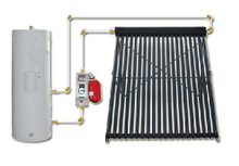 Outdoor Evacuated Tube Heat Pipe Solar Water Heater