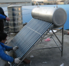 Copper coil Integrated vacuum tube Solar water heater