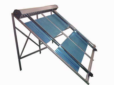 Outdoor Heat Pipe Pressurized Solar Water Heater
