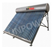 Non Pressure commercial vacuum tube Solar Water Heater