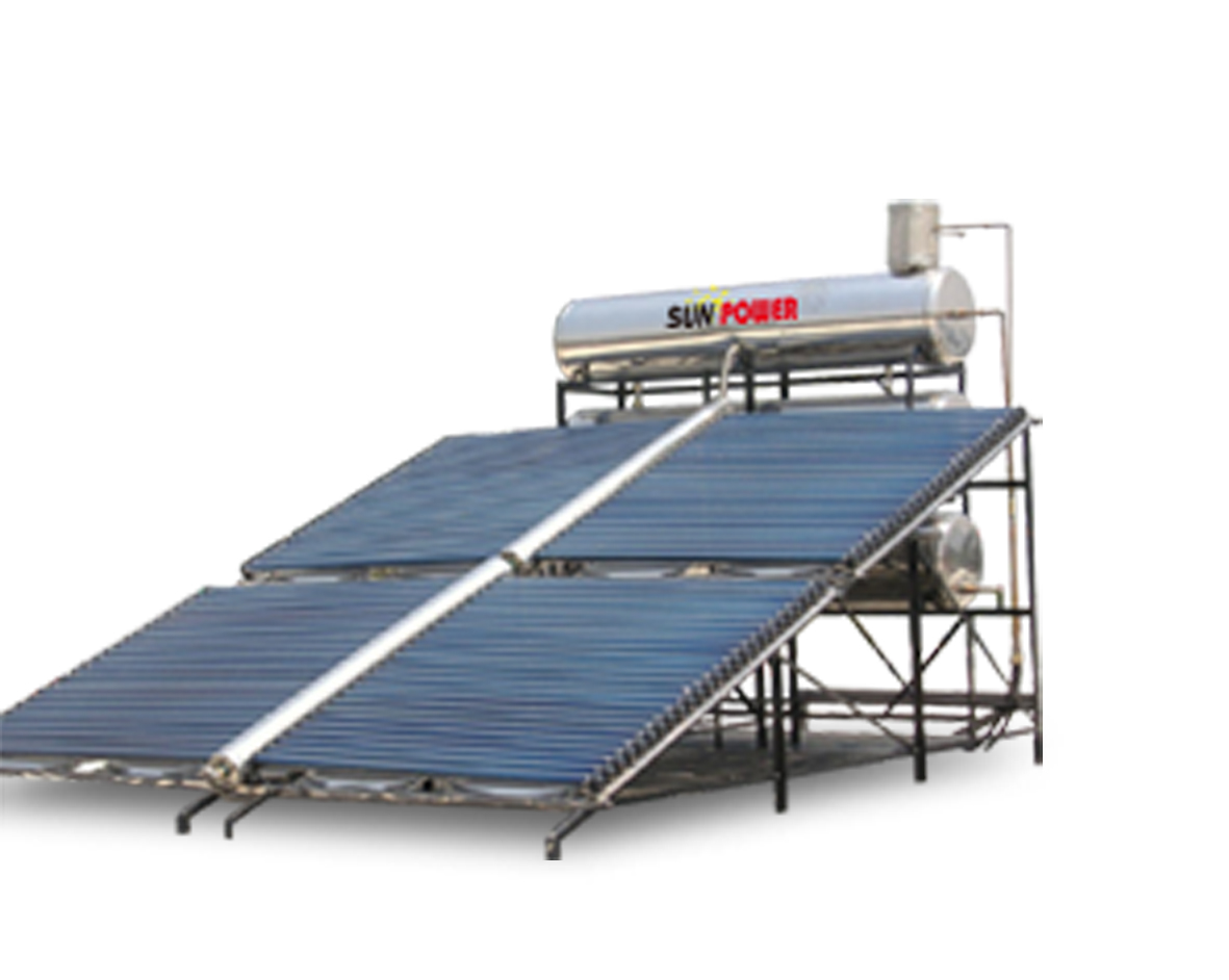 Project Type Commercial Evacuated Tube Solar Water Heater