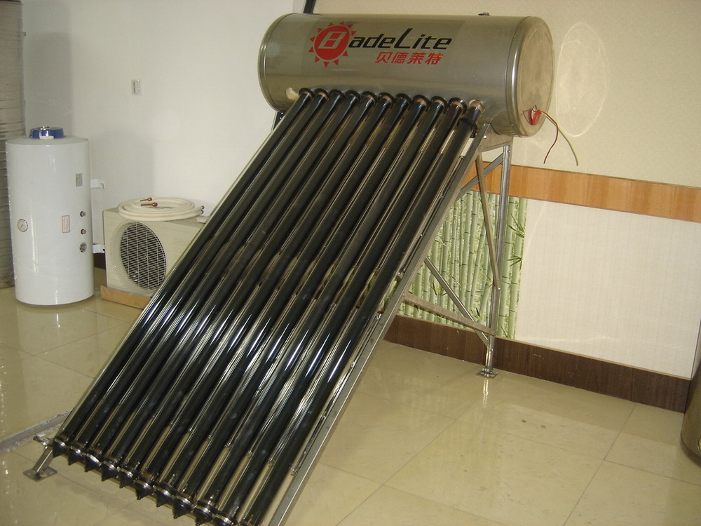 stainless Steel residential heat pipe solar water heater
