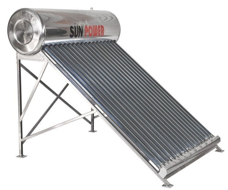 Integrated Low Pressure residential Solar Water Heater