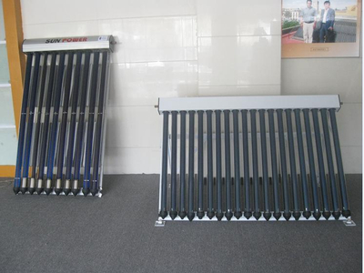Integrated Evacuated tube Heat Pipe Solar Water Heater