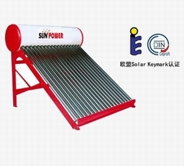 Shower Residential Evacuated Tube Solar Water Heater