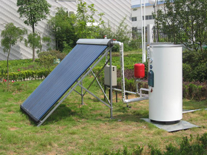 Split Tank Heat Pipe Solar Water Heater