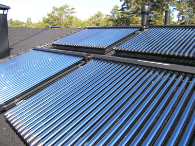 storage tank heat pipe solar water heater