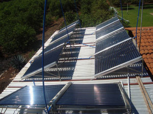Project Type Commercial Split Solar Water Heater