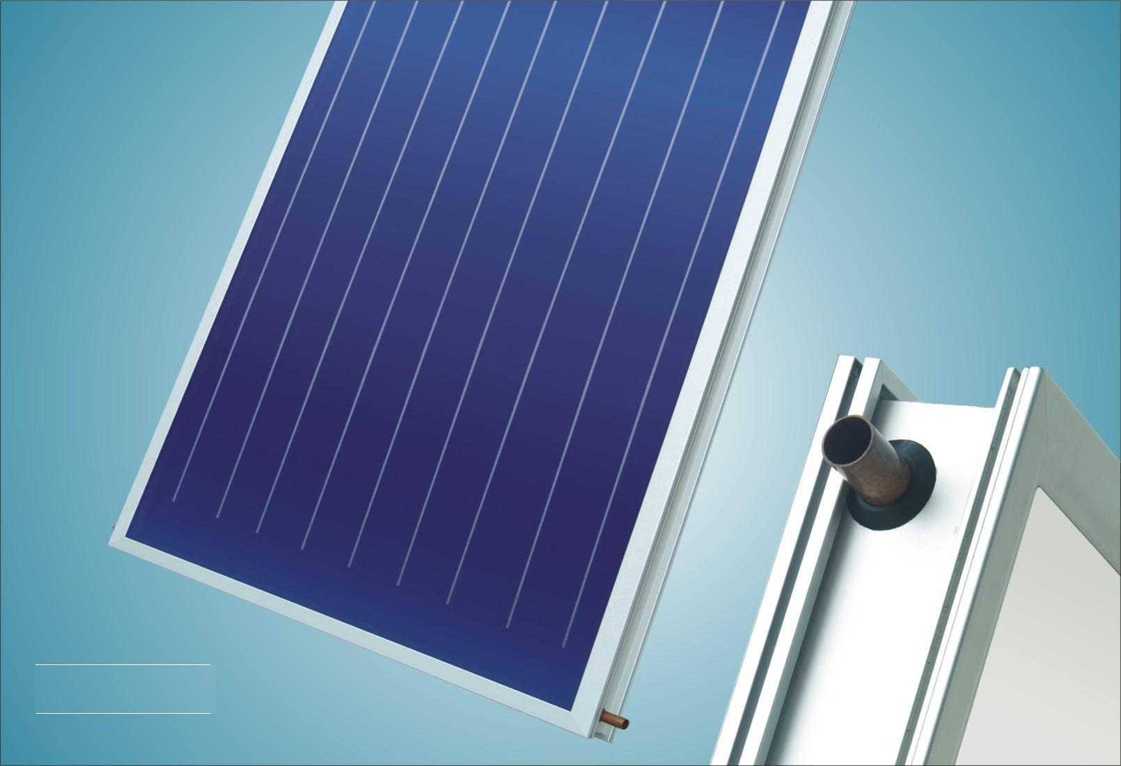 Vacuum Tube Flat Plate Solar Thermal Collector