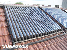 Galvanized Steel Split Heat Pipe Solar Water Heater