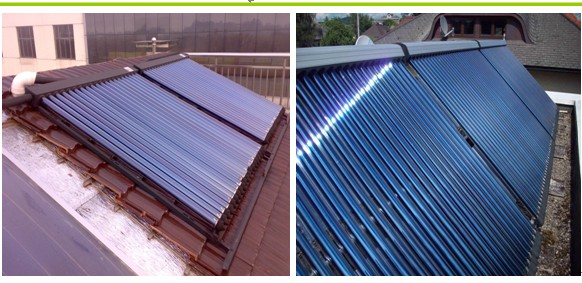 Glass Vacuum Tube Heat Pipe Solar Water Heater