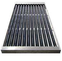 U-style heat pipe solar water heater