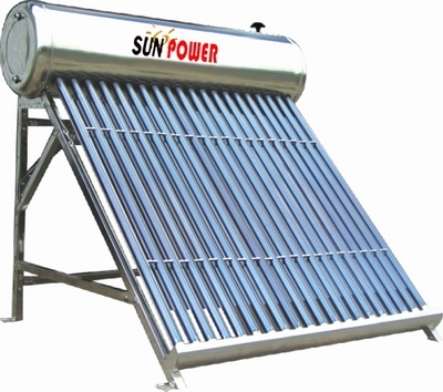 Low Pressure Compact Commercial Solar Water Heater