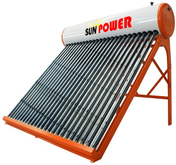 non-pressurized vacuum tube Solar Water Heater system