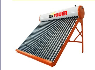 Non Pressure direct vacuum tube Solar Water Heater