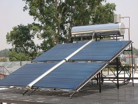 Galvanized Steel Project commercial Solar Water Heater